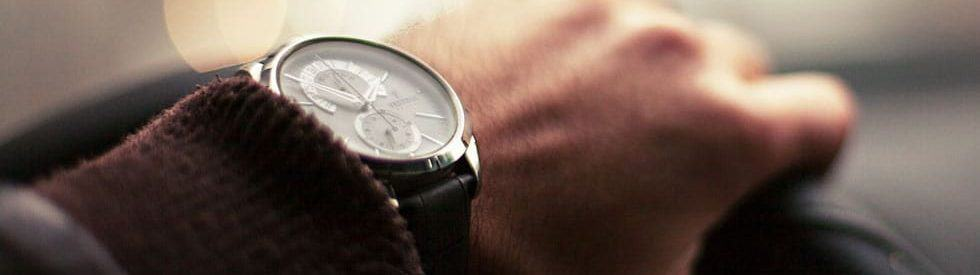 Subject wears and expensive watch: Spire Express recognizes the value of your time.