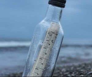 Message in a bottle - Spire Express Blog